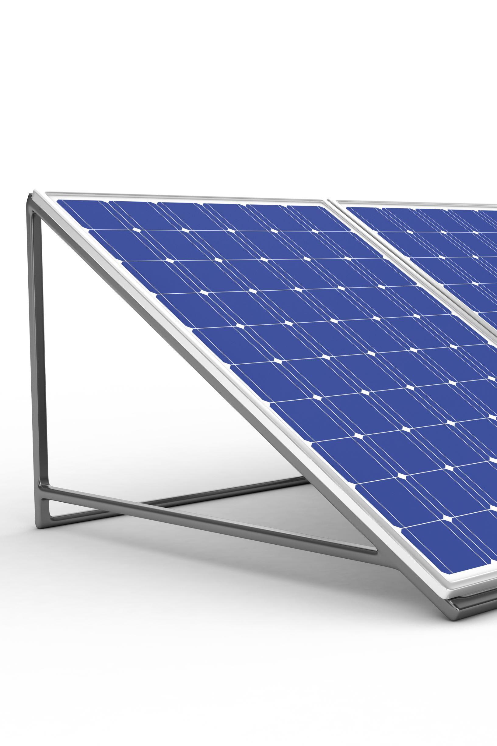 Solar Ständer Montage